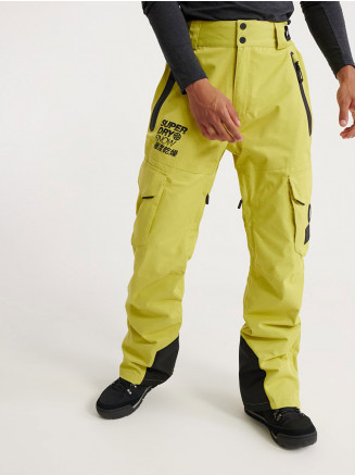 Mens Ultimate Snow Rescue Pant Yellow