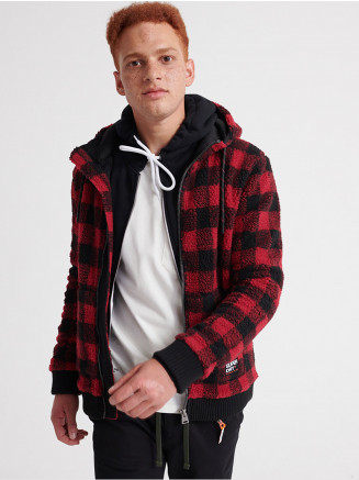 Mens Core Sherpa Ziphood Red