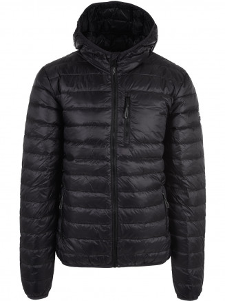 Mens Polar Down Jacket Black