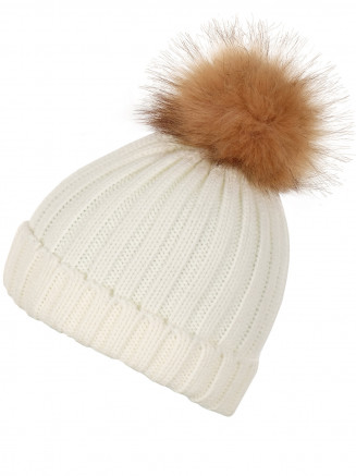 Mens Womens Stunner Beanie White