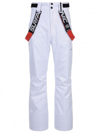 Mens Comrade Surftex Ski Pant White
