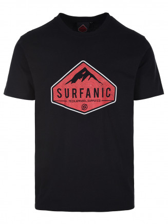 Mens Diamond T-shirt Black