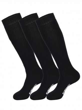 Mens Pro Tech 3pk Socks Black