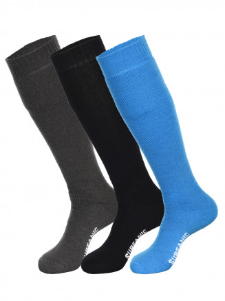 Mens Pro Tech 3pk Socks Blue