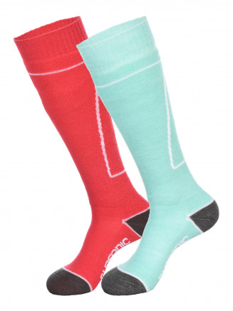 Womens Pro 2pk Socks Blue