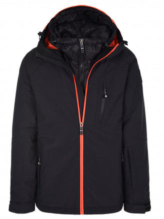 Mens Exodus Hypadri Jacket Black