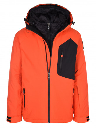 Mens Exodus Hypadri Jacket Orange