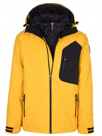 Mens Exodus Hypadri Jacket Yellow