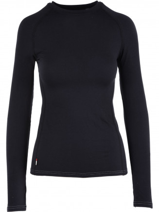 Womens Cozy Crewneck Black