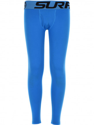Boys CarbonDri Bodyfit Long Johns Blue