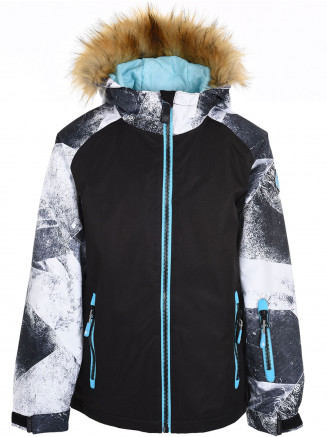 Girls Mirage Surftex Ski Jacket White
