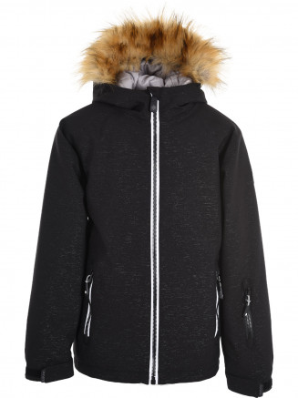 Girls Diamond Surftex Jacket Black