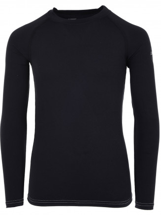 Girls Cozy Crewneck Black