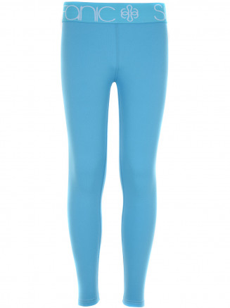 Girls CarbonDri Cozy Long John Blue