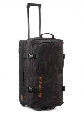 Mens Maxim 70L Roller Bag Green