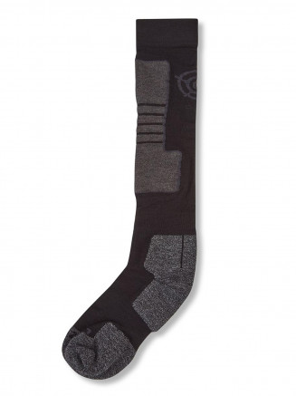 Mens Womens Ellmau Ski Socks Black