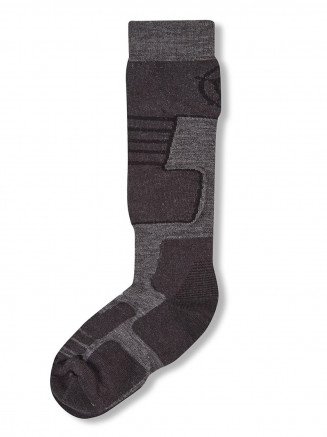 Mens Womens Scheffau Ski Socks Grey