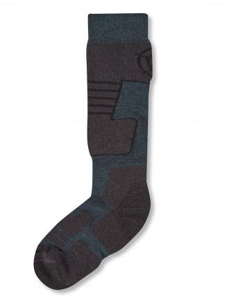 Mens Womens Scheffau Ski Socks Blue