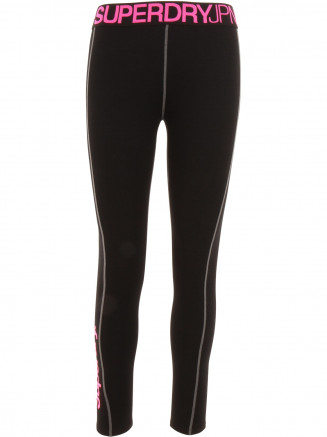 Womens Merino Base Layer Legging Black