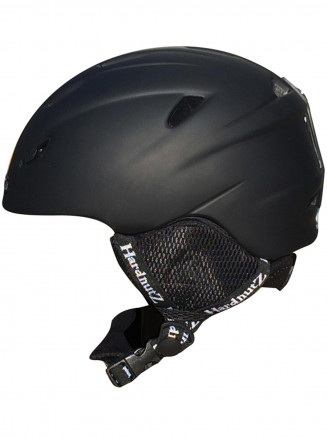 In-Mould Ski & Snowboard Helmet Black