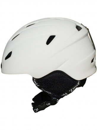 In-Mould Ski & Snowboard Helmet White