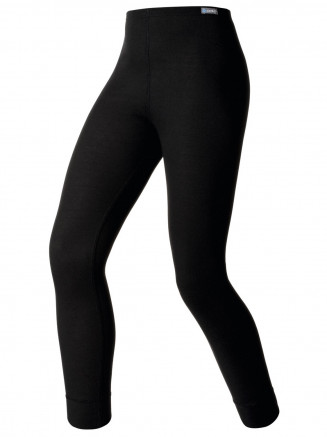 Kids Base Layer Warm Pants Black