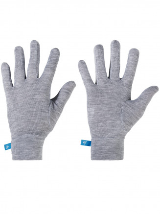 Kids Warm Gloves Grey