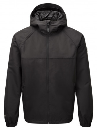 Mens Rampart Performance Shell Jacket Black