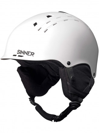 Mens Womens Pincher Helmet White