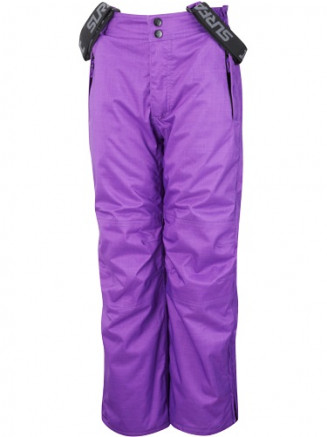 Purple Kink Mini Herringbone Boys Ski Pants