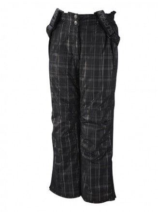 Black Phat Lurex Herringbone Girls Ski Pants