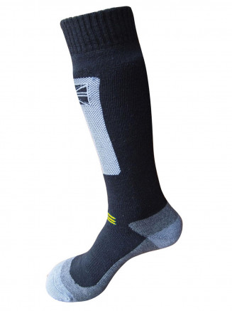 Mens Endurance Pro Merino Ski Sock Black