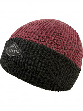 Mens Womens Rollback Beanie Red