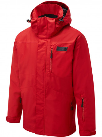 Mens Arma Surftex Ski Jacket Red