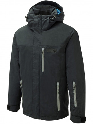Mens Ammo Surftex Ski Jacket Black