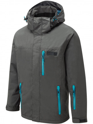 Mens Ammo Surftex Ski Jacket Grey