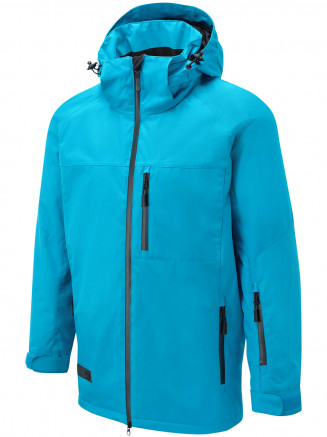Mens Strike Surftex Ski Jacket Blue