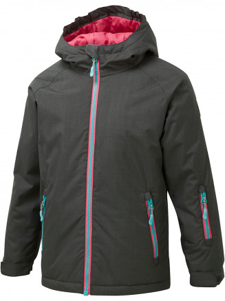 Girls Bubbles Surftex Ski Jacket Grey