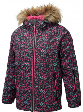 Girls Ditty Surftex Ski Jacket Black