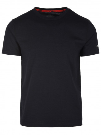 Mens Pinnacle Merino Tee Black