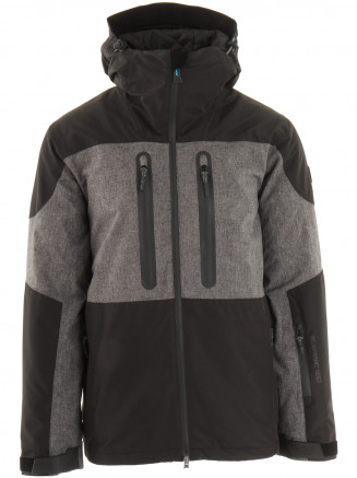 Mens Blacklake Hypadri Ski Jacket Grey