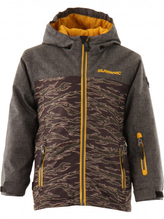 Boys Basher Surftex Jacket Green