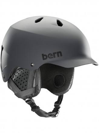 Mens Watts Eps Helmet With Liner Grey