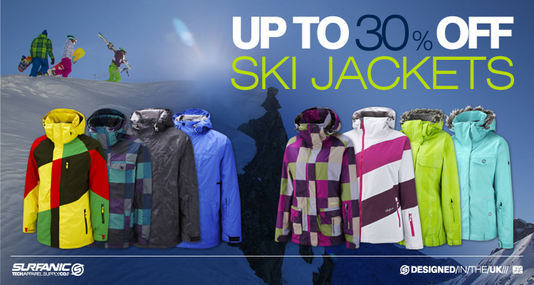 Up to 30% off Jackets